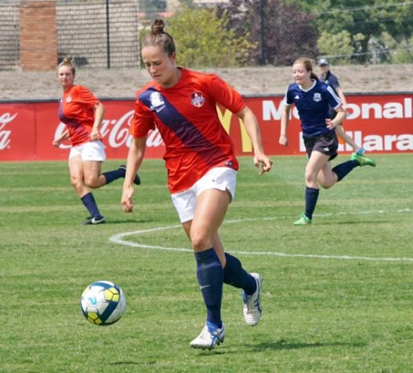 Harriet Cordner soccer Journey To 2017