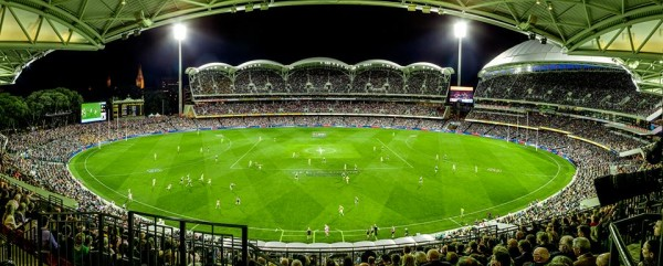 Adelaide Oval Monday Night Football game
