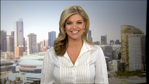 AFL Footy Show Channel 9's Rebecca Maddern